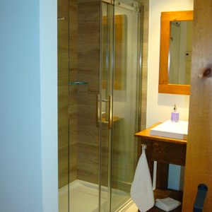 Salle de bain privée | Chambre Albert-Leroux